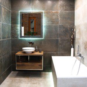 Inšpirácia kúpeľne č. 11, dizajn Cement