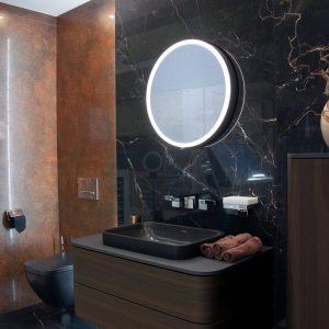 Inšpirácia kúpeľne č. 1, dizajn Kov