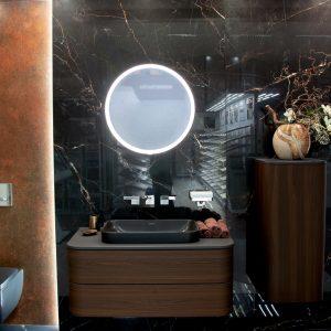 Inšpirácia kúpeľne č. 1, dizajn Mramor