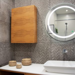 Kúpeľne, dizajn Kameň