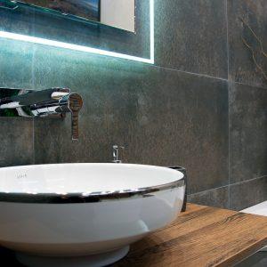 Inšpirácia kúpeľne č. 11, dizajn Kov