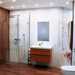 Inšpirácia kúpeľne č. 16, dizajn Drevo