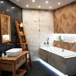 Inšpirácia kúpeľne č. 17, dizajn Kov
