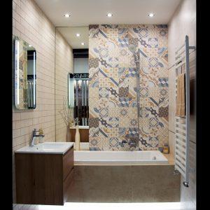 Inšpirácia kúpeľne č. 4, dizajn Cement