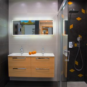 Inšpirácia kúpeľne č. 44, dizajn Cement