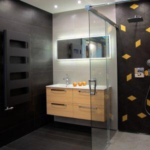 Inšpirácia kúpeľne č. 44, dizajn Kov