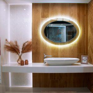 Inšpirácia kúpeľne č. 46, dizajn Drevo