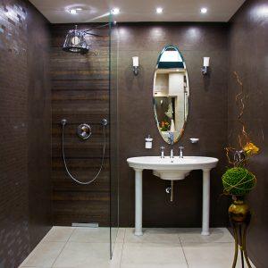 Inšpirácia kúpeľne č. 47, dizajn Cement