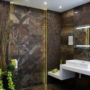 Inšpirácia kúpeľne č. 53, dizajn Kov
