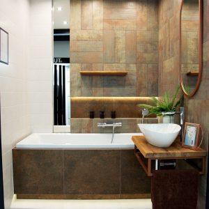 Inšpirácia kúpeľne č. 6, dizajn Kov