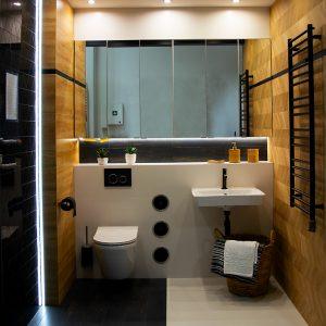 Inšpirácia kúpeľne č. 60, dizajn Drevo