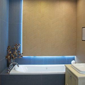 Inšpirácia kúpeľne č. 61, dizajn Textil
