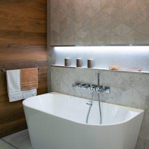 Inšpirácia kúpeľne č. 62, dizajn Drevo