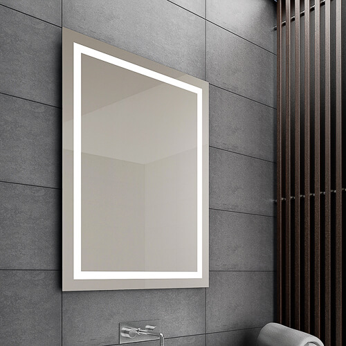 Zrkadlá bez podsvietenia bez rámové