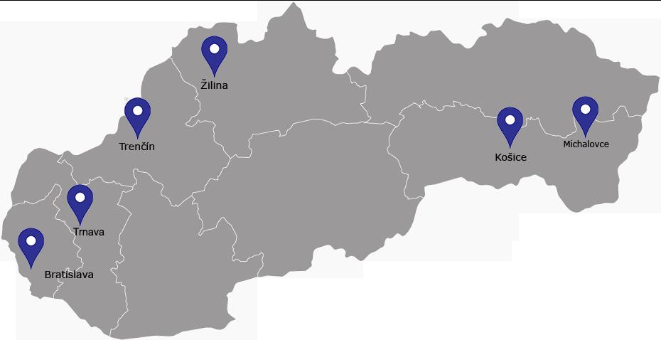 Predajne Ingema mapa